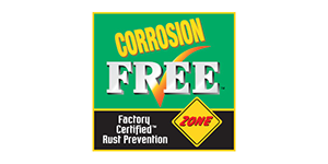 Corrosion-free-certified